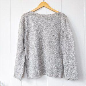 Marks & Spencer Wool Blend Boat Neckline Sweater